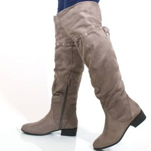Oneway by City Classified Over The Knee Boots 7.5